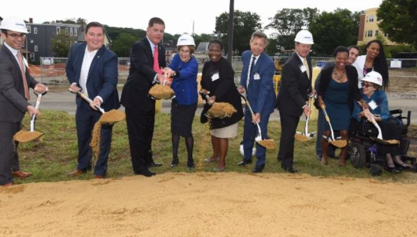 The Harmon Apartments Team Celebrates the Groundbreaking of a New 36 Unit Residential Facility
