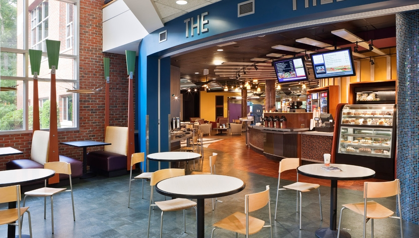 Stonehill College - The Hill Cafe