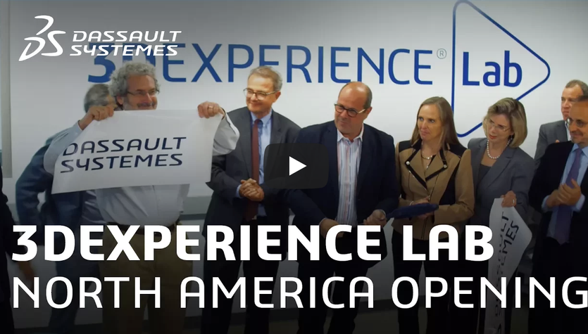 Dassault Systèmes and MIT 3DEXPERIENCE Lab Team Celebrates the Grand Opening