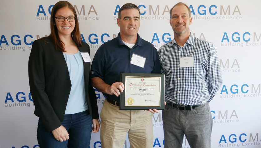 Columbia Receives AGC's National Award for Safety