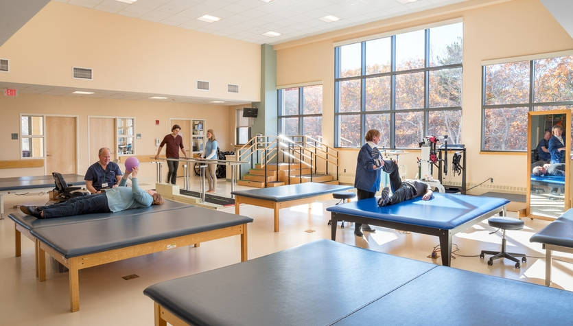 Columbia Construction Completes the Expansion of Spaulding Rehab Hospital Cape Cod