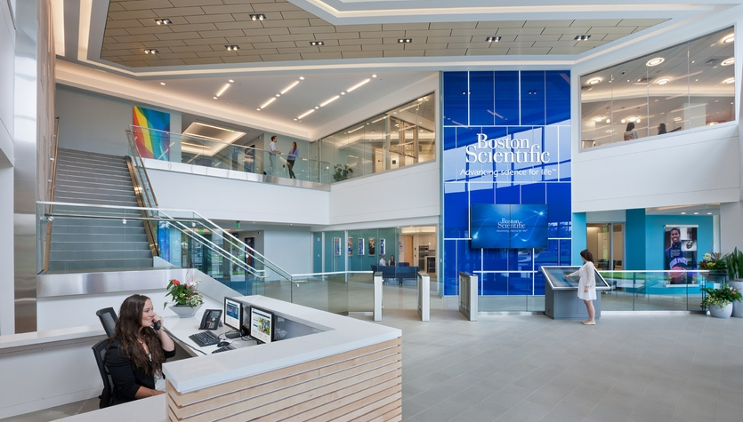 The Columbia and MPA Team Launch a Special Video Release - of Boston Scientific's New HQ
