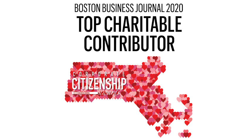 BBJ Names Columbia Among the  Most Charitable Companies in Massachusetts