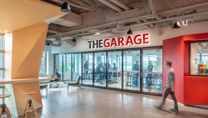 The Garage at Microsoft