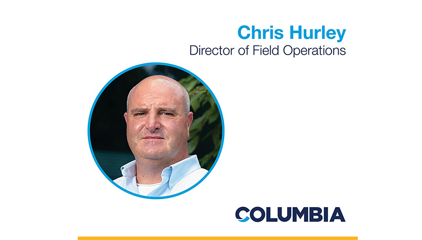 Columbia Creates New Role, Promotes Chris Hurley to Director of Field Operations
