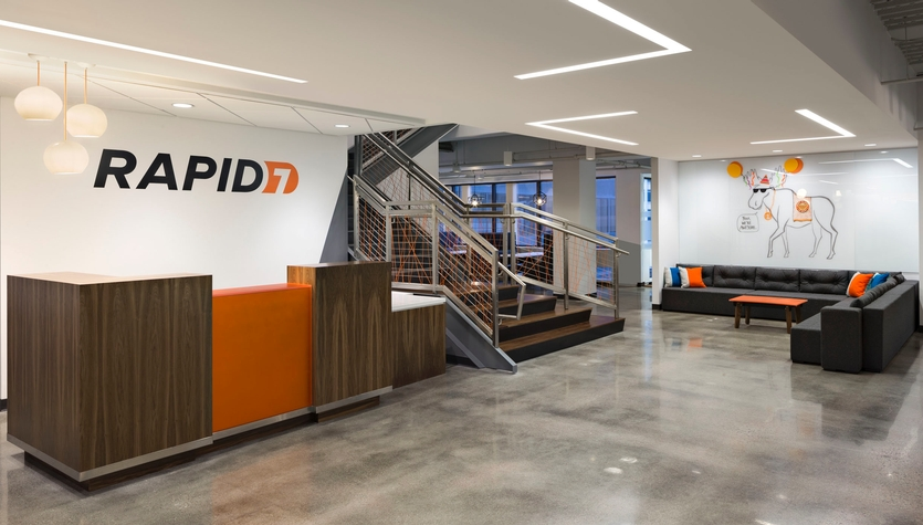 Rapid7's New Headquarters at 100 Summer Street Featured in High-Profile Monthly
