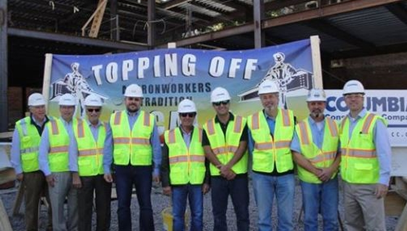 Topping Off Celebration of 300 Cambridge Street Office & Retail Building