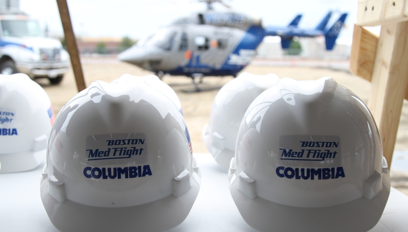 The Boston MedFlight Team Celebrates the Groundbreaking of a New 54,000 SF Facility