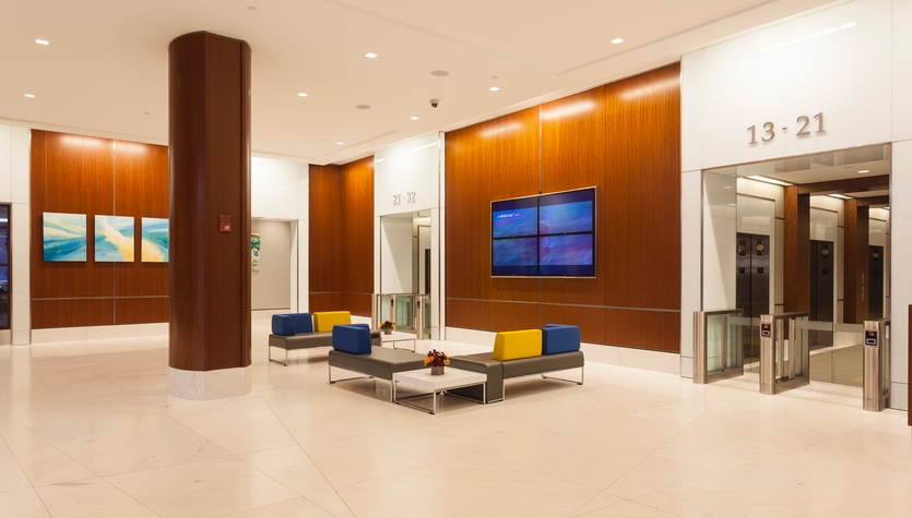 Columbia Releases an Article Focusing on the Latest Trends in Lobby Design - by Shaun Lover