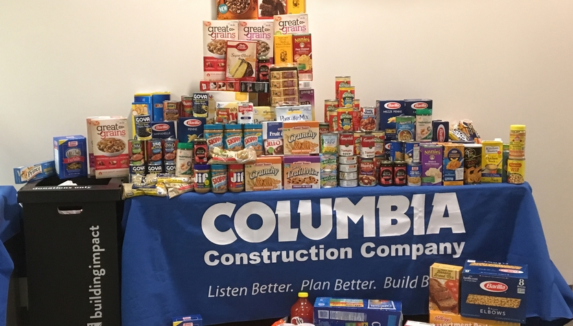 Spotlight On...  Columbia Comes Together to Fight Hunger