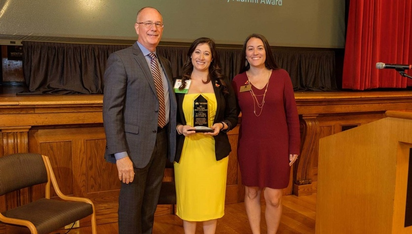 Carlie Biron Awarded the Philip J. Brooks Alumni Leadership Award