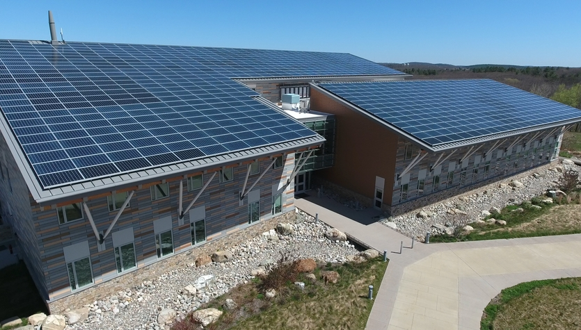 Fisheries & Wildlife's Zero Net Energy HQ Wins Green Bldg Leadership Award