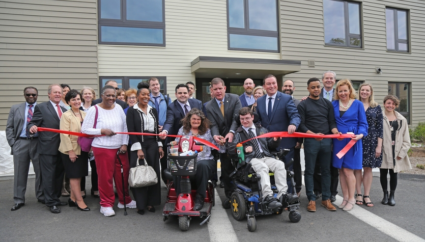 Columbia Celebrates Harmon Apartments Ribbon Cutting Ceremony